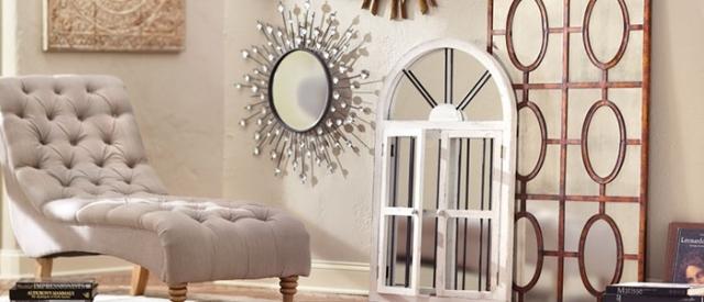 Je veux habiller mes murs de façon originale avec les miroirs
